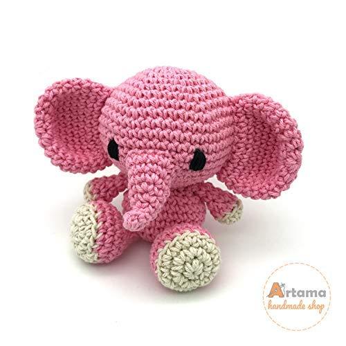 crochet toys amigurumi cute flower elephant| | - AliExpress | 500x500