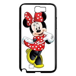 Samsung Galaxy N2 7100 Cell Phone Case Black Disney Mickey Mouse Minnie Mouse as a gift A5853218
