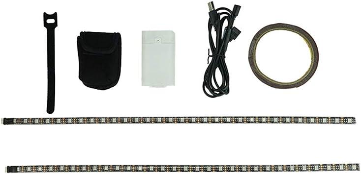 SMILEQ Accesorios de Bicicleta Scooter eléctrico Luces de Tira LED ...