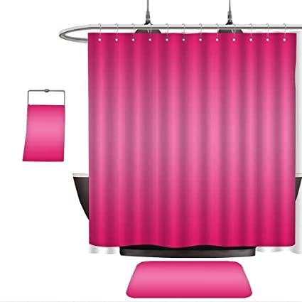 040f8dc08f5f Home Decoration Ombre Princess Pink Inspired Fuchsia Modern Design Ombre  for Decorations Digital Print Pink. Custom Bathroom use(Ten Sizes Select)   ...