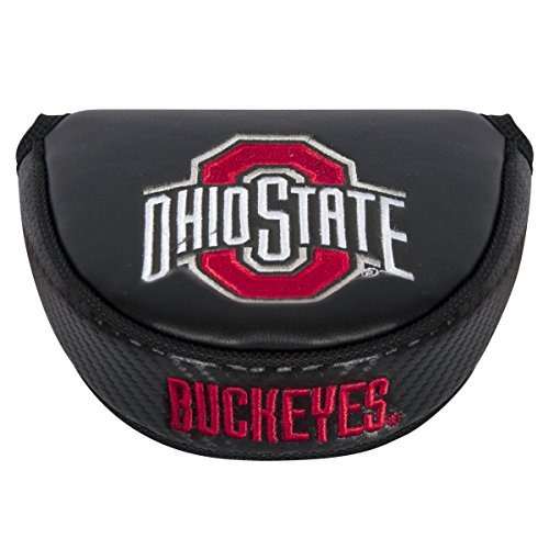 Team Effort NCAA Ohio State Buckeyes Mallet Putter Coverblack Mallet Putter Cover, Black, NA