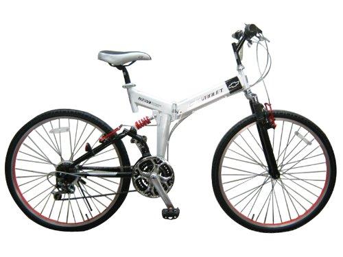 CHEVROLET(シボレー) 折りたたみ自転車 26インチ FD-MTB26WH