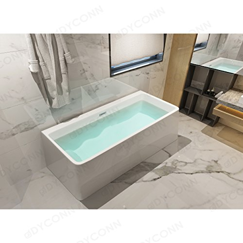 glossy white acrylic tub - 2