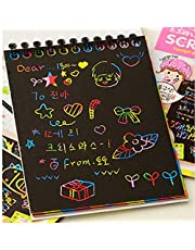 Drawing Toys Large Magic Color Scratch Note book Paper