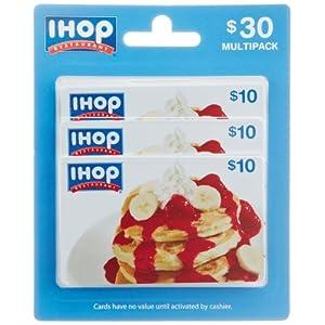 IHOP Restaurant Gift Cards - front