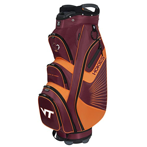 Team Effort Virginia Tech Hokies The Bucket Ii Cooler Cart Bag For Sale