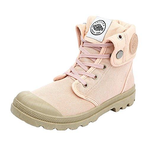 Espadrille de Chaussures en Chaussures Femmes Multifonction Toile Combat Randonnée Hibote Rose air Plein de Désert Bottes de ZO5gqgzw