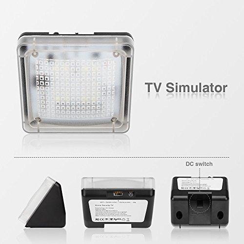 avantek simulateur de pr sence tv contre les cambriolages intrusion simule un t l viseur fake. Black Bedroom Furniture Sets. Home Design Ideas