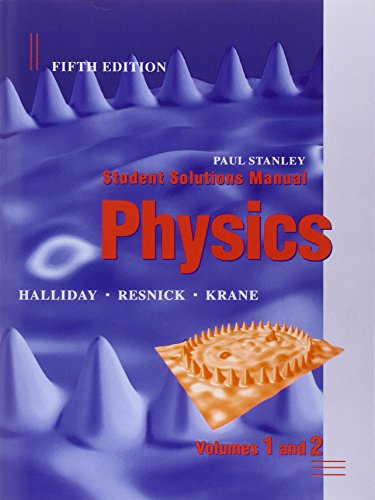 resnick solution manual Instructor solutions manual for physics by halliday, resnick, and krane paul stanley beloit college  these student solutions carefully discuss the steps required for solving problems, point  encouraged to refer students to the student's solution manual for these exercises and problems however, the material from the student's solution.