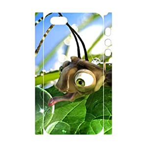 3D evekiss Bug iPhone 5,5S protective cases cute Bugs life, Bug phone case for iphone 5S [White]