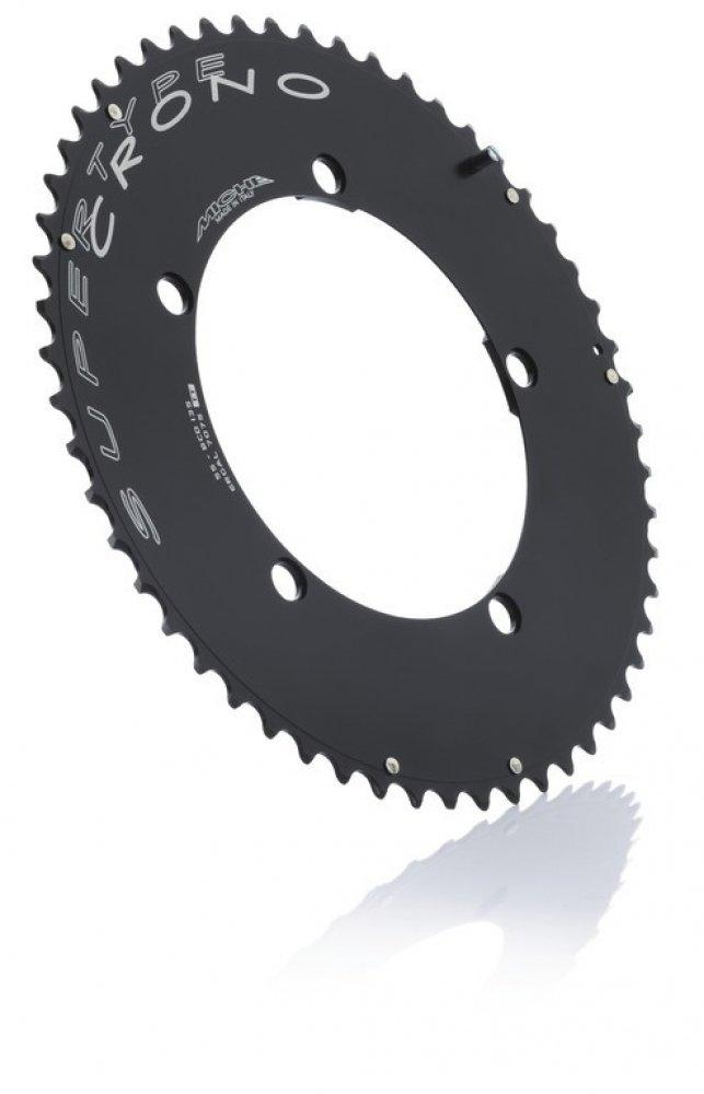 Kettenblatt Miche Crono BCD 130SH 54Z 10-fach schwarz Shimano kompatibel