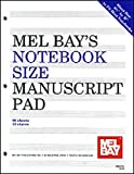 Notebook-Size Manuscript Pad 10-Stave, Mel Bay Publications Incorporated Staff, 1562223968