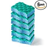 Image of O-Cedar Multi-Use Scrunge Scrub Sponge (Pack of 6)