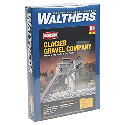 Walthers Cornerstone Series Kit HO Scale Glaciar Gravel: Toys & Games