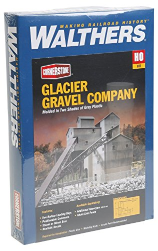 Walthers Cornerstone Series Kit HO Scale Glaciar Gravel
