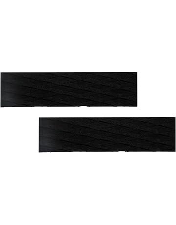 perfk 2 Piezas EVA Non Slip Skimboard Traction Pad Bar Grip Sup Tabla De Surf