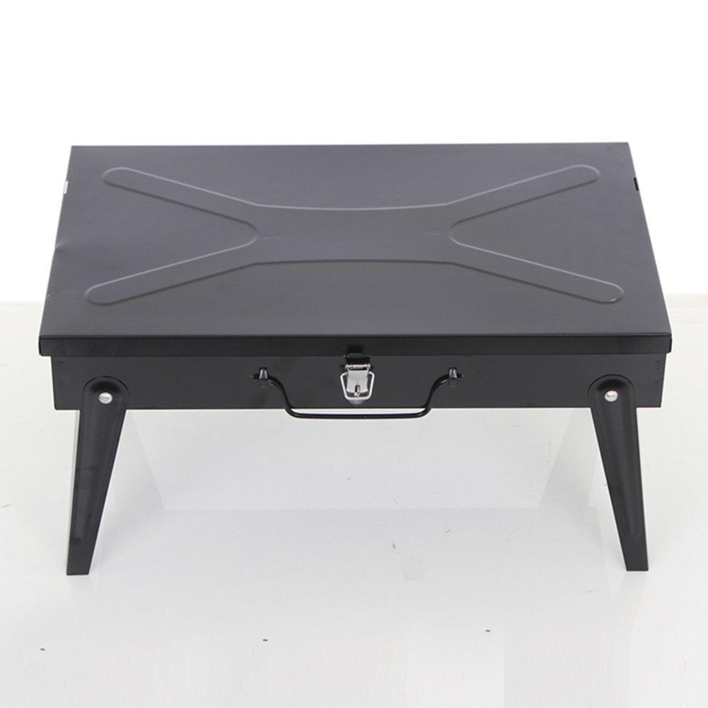 Amazon.com: TY & WJ parrilla plegable portátil, al aire ...