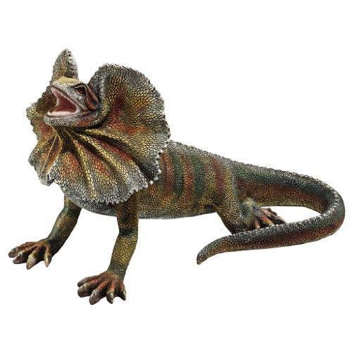 Design Toscano Frill-Necked Lizard -