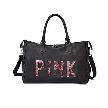 Unisex Holdall Weekend Handbag Flight Cabin Bag Duffle Bag Gym Shoulder Bag