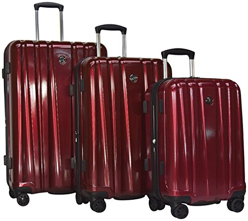 Revo Impact 3-Piece Expandable Hardside Spinner Luggage Set: 30