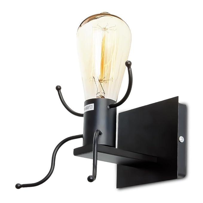 4 opinioni per Dax-Hub E26 Retrò Lampada Porta da parete a letto creativa del Robot Edison