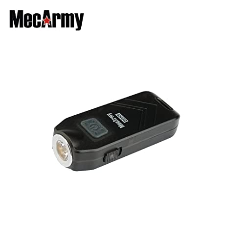 SGN5 560 lumens USB Rechargeable Person Attack Alarm EDC flashlight, Mecarmy (Rose color) - - Amazon.com