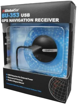 Globalsat BU-353 USB GPS Receiver SIRF III Navigation for PC Mac