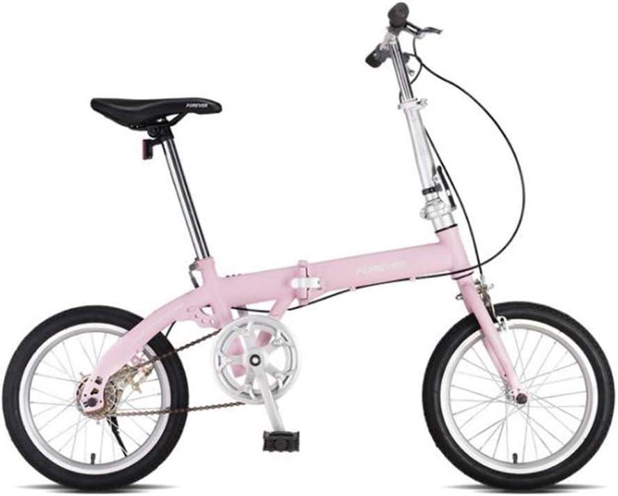 TX Bicicleta Plegable Rápida Portátil De 16 Pulgadas Pedales ...