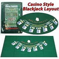 Trademark Poker 405694 Blackjack Layout, 36 x 72 Pulgadas