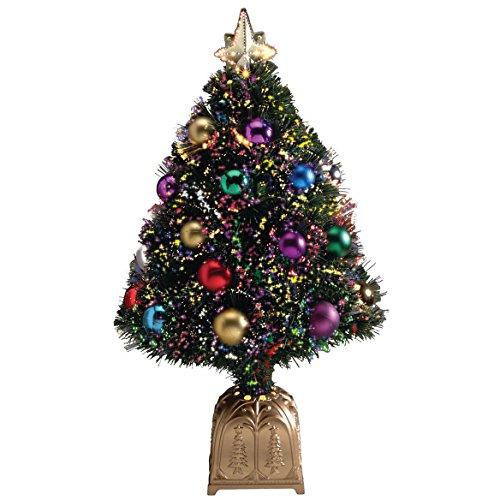 HOLIDAY PEAK Fiber Optic Holiday Tree