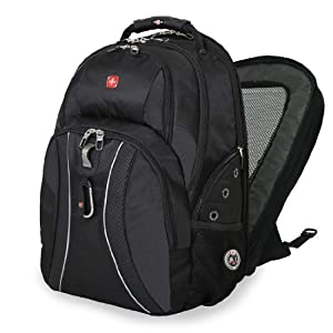 SwissGear Scansmart ® Laptop Backpack, Multiple Colors (Black)