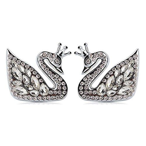 Swan vents perfume pendant(silver)