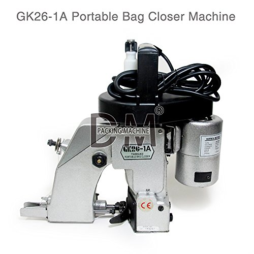 1PC GK26-1A Automatic Single Needle Thread Chain Stitch Portable Packet Bag Sewing Machine