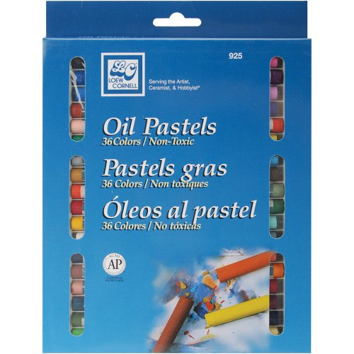 - Loew-Cornell 925 Oil Pastels, 36-Count