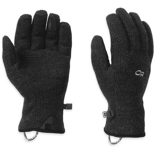 (Outdoor Research Men's Flurry Sensor Gloves, Black, Medium)