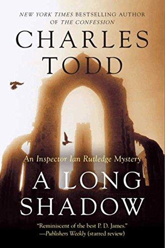 A Long Shadow: An Inspector Ian Rutledge Mystery (Inspector Ian Rutledge Mysteries) [Charles Todd] (Tapa Blanda)