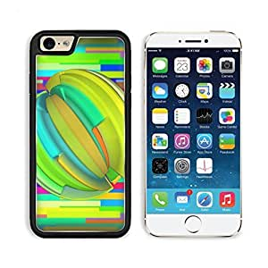 Abstract Minimalistic Colorful Fractal Pattern iPhone 6 TPU Case niuniu's case