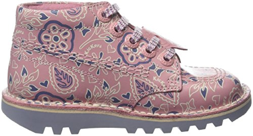 Kickers Mädchen Kick Hi Lthr If Lt Stiefel Pink (Light Pink/mauve)