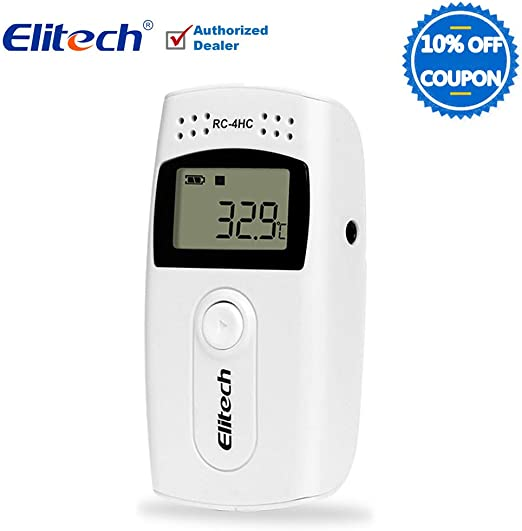 Amazon.com: Elitech STC-1000 – rc-4hc en ℉ Temp Grabadora ...