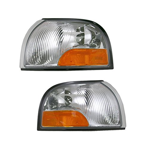 Front Corner Marker Turn Signal Parking Lights Lamps Pair Set for Quest (Parking Signal Lamps Set)