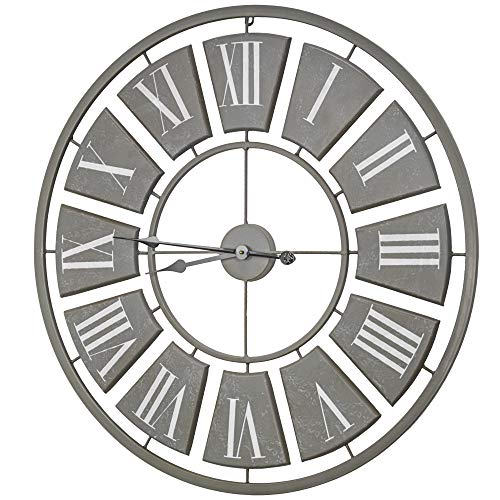 American Art Decor Oversized Vintage Metal Wall Clock 31