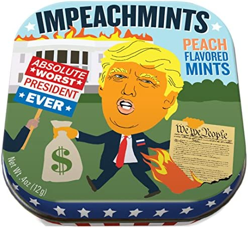 Trump ImpeachMints Mints » 1 Small Tin 1.75 x 1, mints