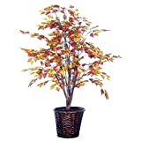 Vickerman 4-Feet Artificial Golden Birch Bush in