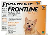 12 MONTH Frontline Top Spot Orange: For Dogs up to 22lbs., My Pet Supplies