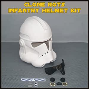 Amazon.com : Clone Trooper ROTS Infantry Helmet Prop Kit
