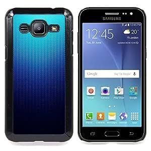 SKCASE Center / Funda Carcasa protectora - Modelo azul de malla;;;;;;;; - Samsung Galaxy J2 / J200