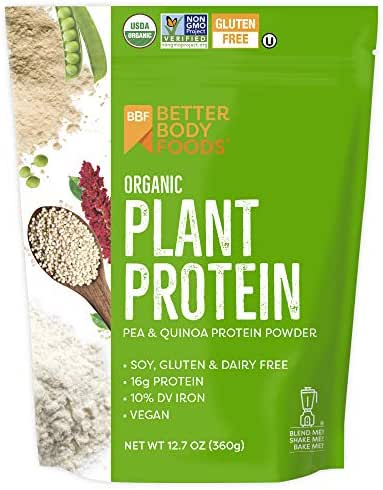 Protein & Meal Replacement: LIVfit Superfood Organic Plant Protein
