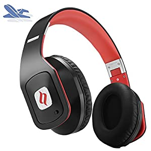 Noontec Hammo Go Active Noise Cancelling Headphones Wired Award-winning Sound Airplane Over Ear Inline Mic and Carrying Case