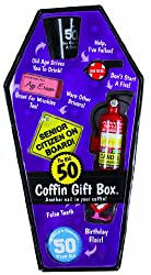 Bigmouth Inc Gift Box Coffin - 50