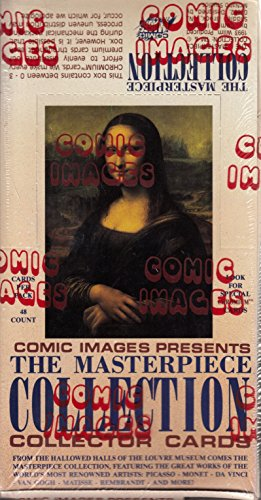 THE MASTERPIECE COLLECTION 1993 COMIC IMAGES FACTORY SEALED TRADING CARD BOX OF 48 PACKS